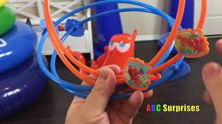 Color Fun With Finding Dory Hank Ring Toss And Basketball Inflatable For Toddlers And Kids