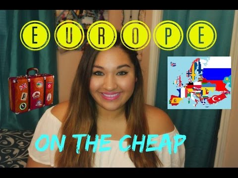 Inexpensive Travel tips || Backpacking in EUROPE