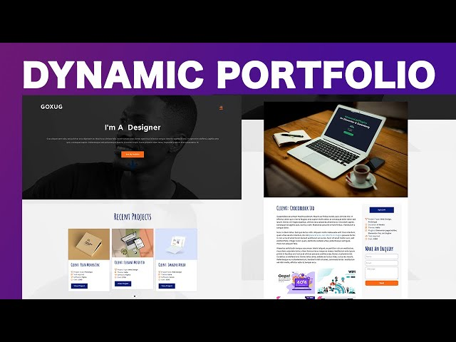 Create a Dynamic Web Portfolio using Elementor Pro and Jet Engine