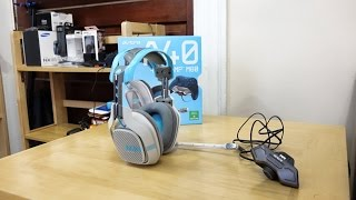Astro A40 + Mixamp M80 Xbox Edition Headset Review!! Solid