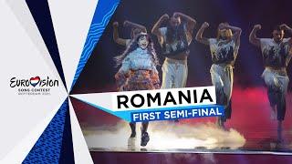 ROXEN - Amnesia - LIVE - Romania 🇷🇴 - First Semi-Final - Eurovision 2021
