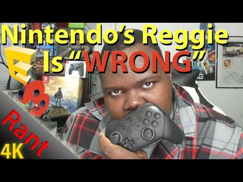 Rant: Nintendo Reggie Fils-Aime is WRONG Switch's Clunky Voice Chat Solution Being more Robust