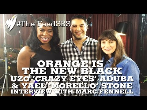 Orange Is The New Black's Uzo Aduba & Yael Stone with Marc Fennell I The Feed