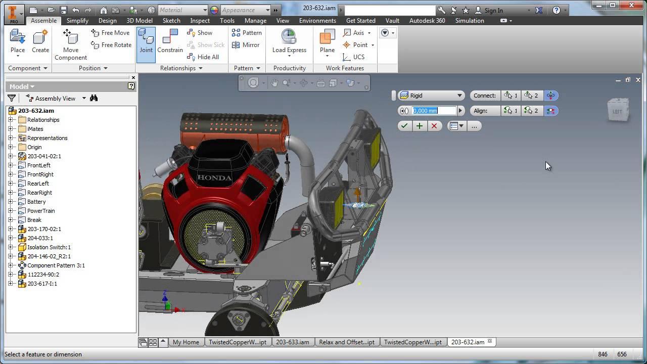 Co nowego w Autodesk Inventor 2015 - Część 1 - YouTube