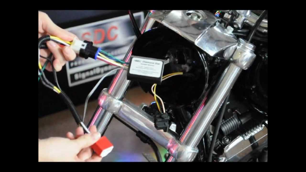 Plug And Play Headlight Module Single H4 Harness Adapter Youtube Wiring Diagram