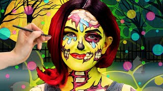 Spooky Zombie Face Paint | SillyPop