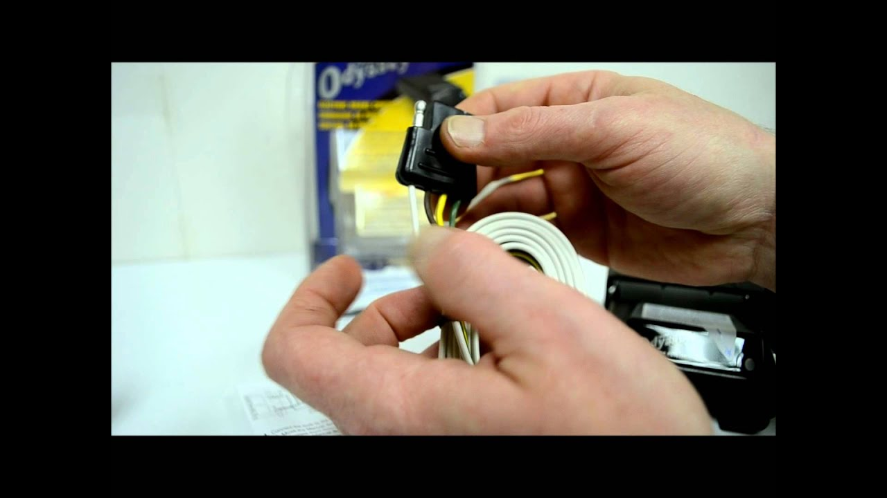 How To Wire A Trailer Hitch And Electric Brakes Youtube Wiring For Dummies