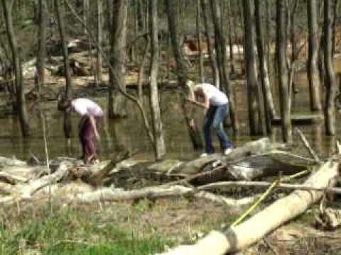 Davey & I at Lake in Clarksville, Va.