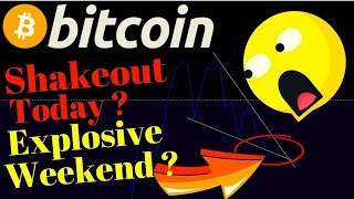 🌟BITCOIN shakeout then EXPLOSIVE weekend??🌟btc ltc price prediction, analysis, news, trading