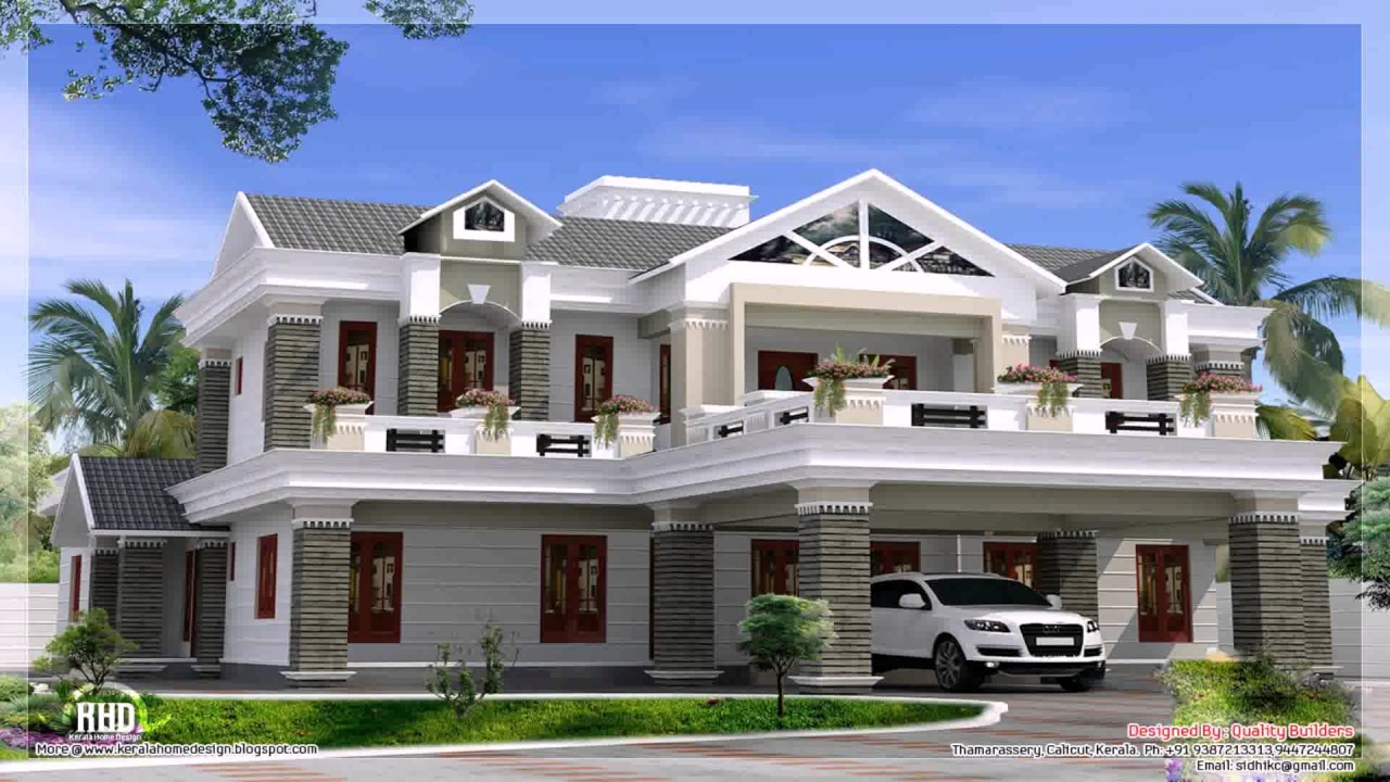 Modern box type house design philippines youtube for Modern box type house design
