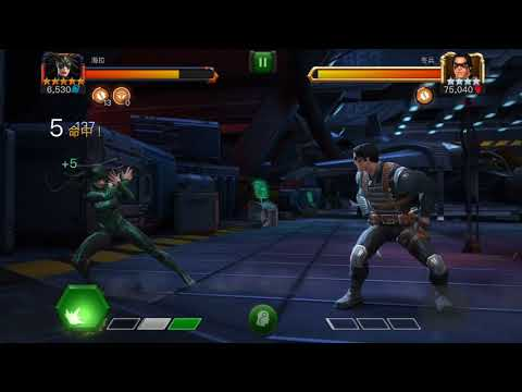 5* Rank 3 Hela VS. Winter Soldier synergy bug fixed 43 hits
