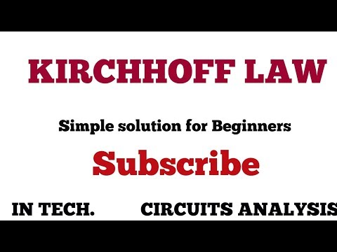 Calculation of branch current Using Kirchhoff's law| KL Tamil|