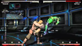 Mortal Kombat X - Tremor 55% 1 Meter Unblockable