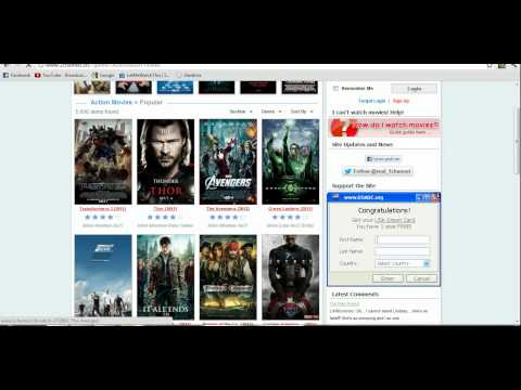 How to watch free movies online! Step by...