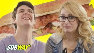 Couples Guess Each Other's Perfect Sandwich // Presented by BuzzFeed and Subway