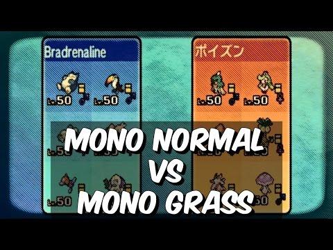 #MonotypeMonday - NORMAL VS GRASS - 30+ Turns of Torture - Pokemon Sun and Moon WiFi Battle