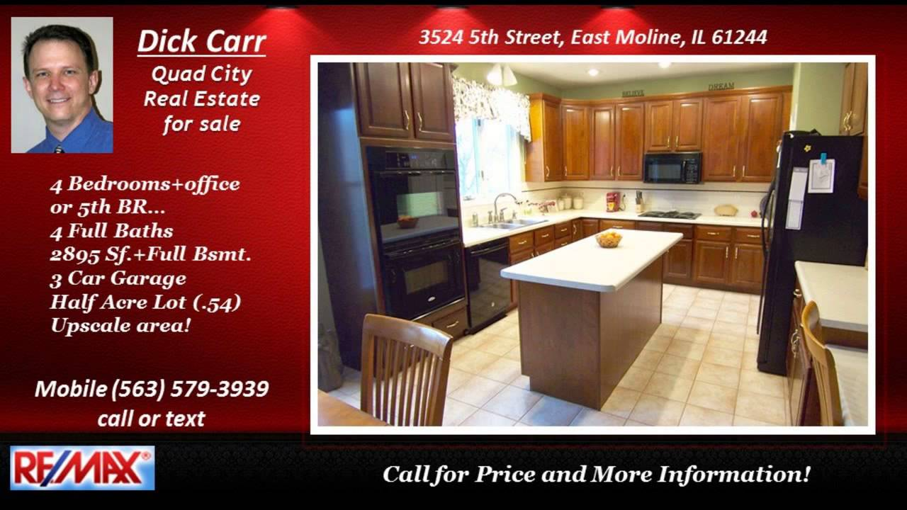 quad city 4 bedroom home for sale call 563 579 3939