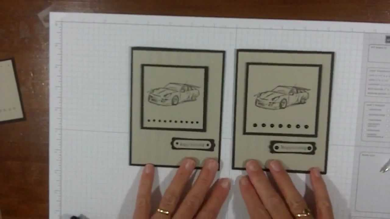 Stampin up card making ideas for masculine cards youtube bookmarktalkfo Gallery