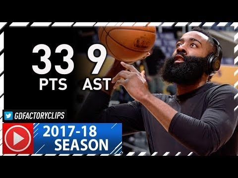 James Harden Full Highlights vs Lakers (2017.12.03) - 36 Pts, 9 Ast, TOO EASY!
