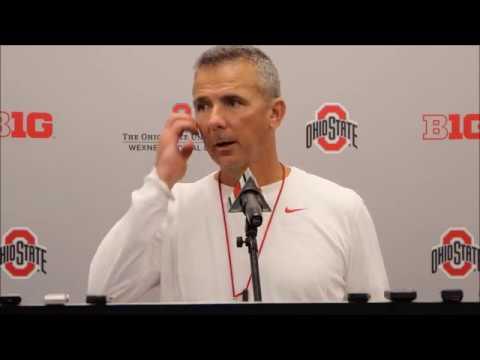 Ohio State head coach Urban Meyer 9/20/17 - ELEVENWARRIORS.COM
