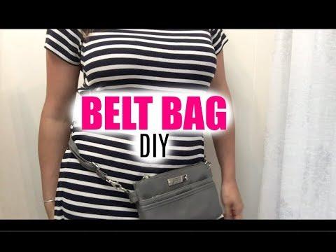 DIY Belt Bag
