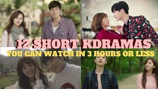 12 Short Kdramas You Can Watch in 3 Hours Or Less!!!