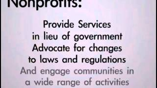 Government Nonprofit Relationships