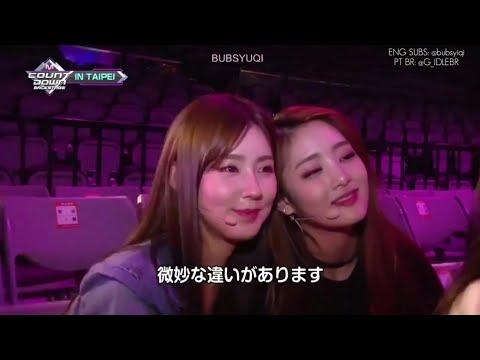 ENSAIO (G)I-DLE , BTS FAKE LOVE (COVER) - MCOUNTDOWN IN TAIPEI