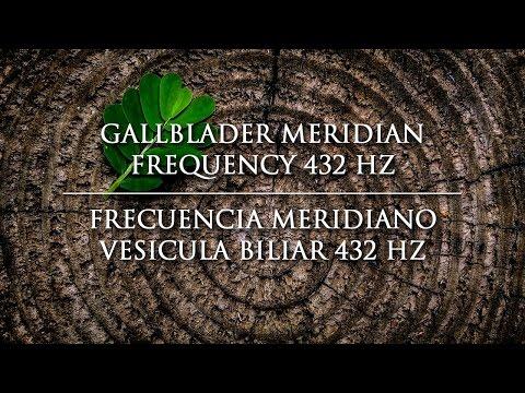Gallbladder Meridian 432 Hz Frequency - Frecuencia Meridiano Vesícula biliar 432 Hz