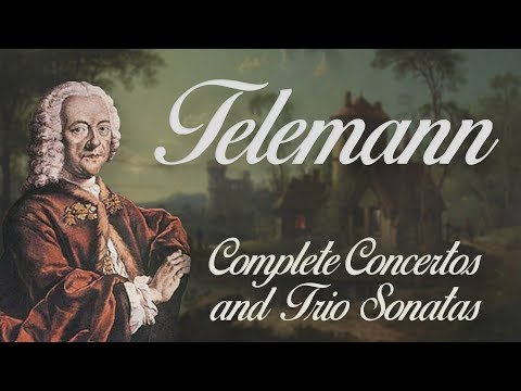 Telemann: Complete Concertos and Trio Sonatas (with viola da gamba)