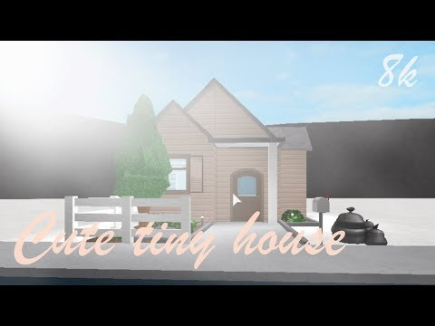 Bloxburg Cute Tiny House 8k Youtube