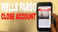 ✅  4 Ways To Close Wells Fargo Bank Account ?