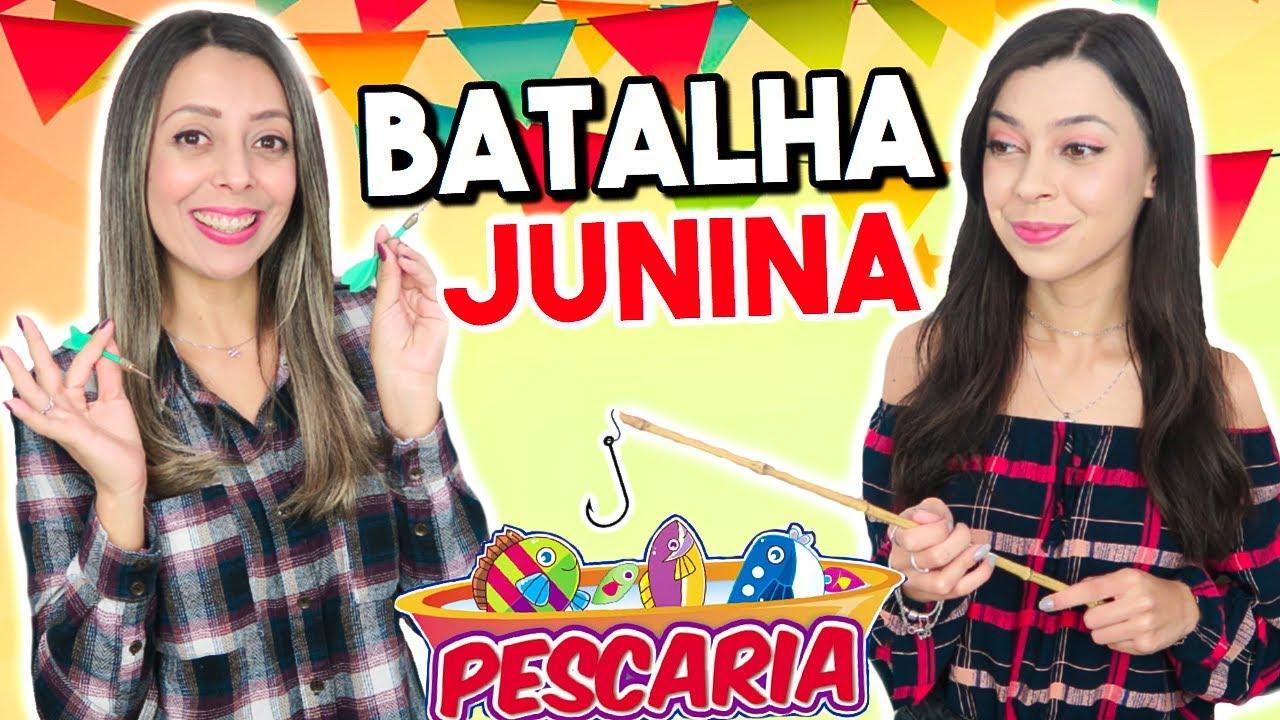 BRINCADEIRAS DE FESTA JUNINA  🎊   BATALHA JUNINA