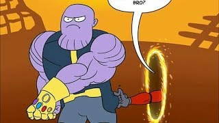 "30+ ""Thanos"" Hilariously Funny Comics To Make You Laugh. Avengers: Infinity War. Marvel"