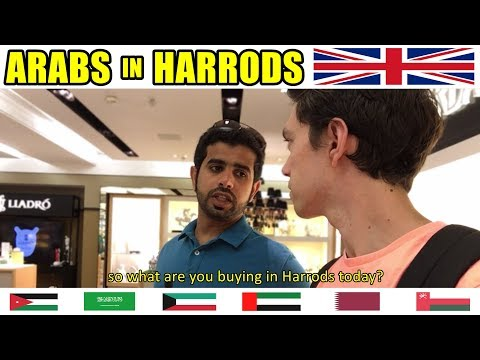 Chatting With Arabs In LONDON