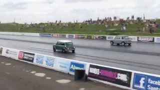 Me driving. Both Rover K series 1.8 VVC engines. MITP 2015