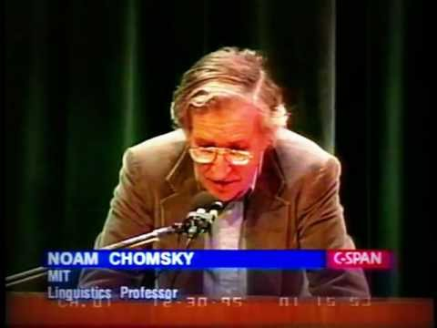 Noam Chomsky & Christopher Hitchens: US Foreign policy