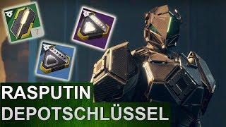 Destiny 2: Kodierte Depotschlüsse Guide (Deutsch/German)