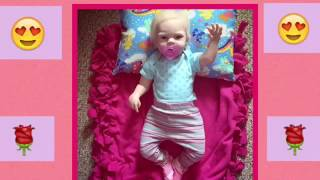 Reborn Lilly rose changing video