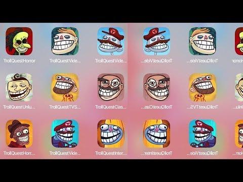 Troll Quest Horror,Troll Quest Video, Troll Face Meme, Troll Unlucky,Troll TV Show, Troll Classic