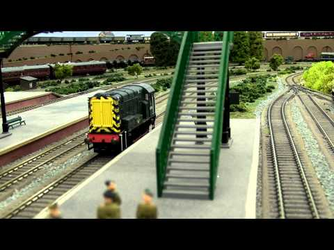 North East model railway - Station Pilot Part2