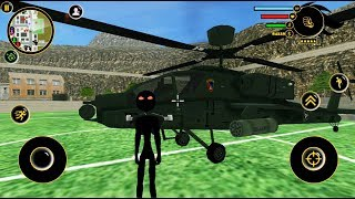 Real Stickman Crime Simulator #12 Helicopter Mod |  byNaxeex Corp |  Android GamePlay FHD