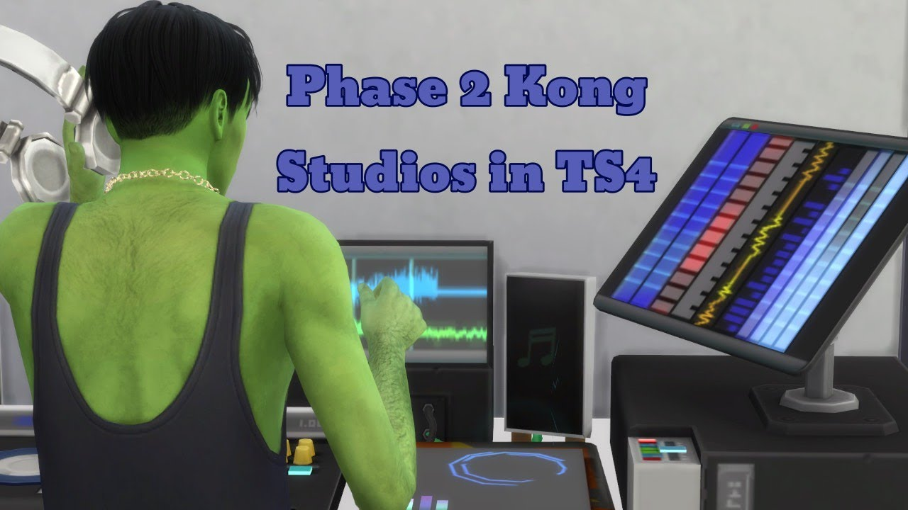 Phase 2 Kong Studios in TS4