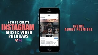 Quickest Way! How To Make Instagram Music Video Previews(5 Mins Or Less)