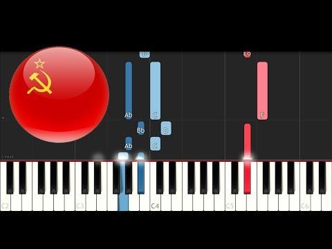 Soviet Union - National Anthem (Piano Tutorial)