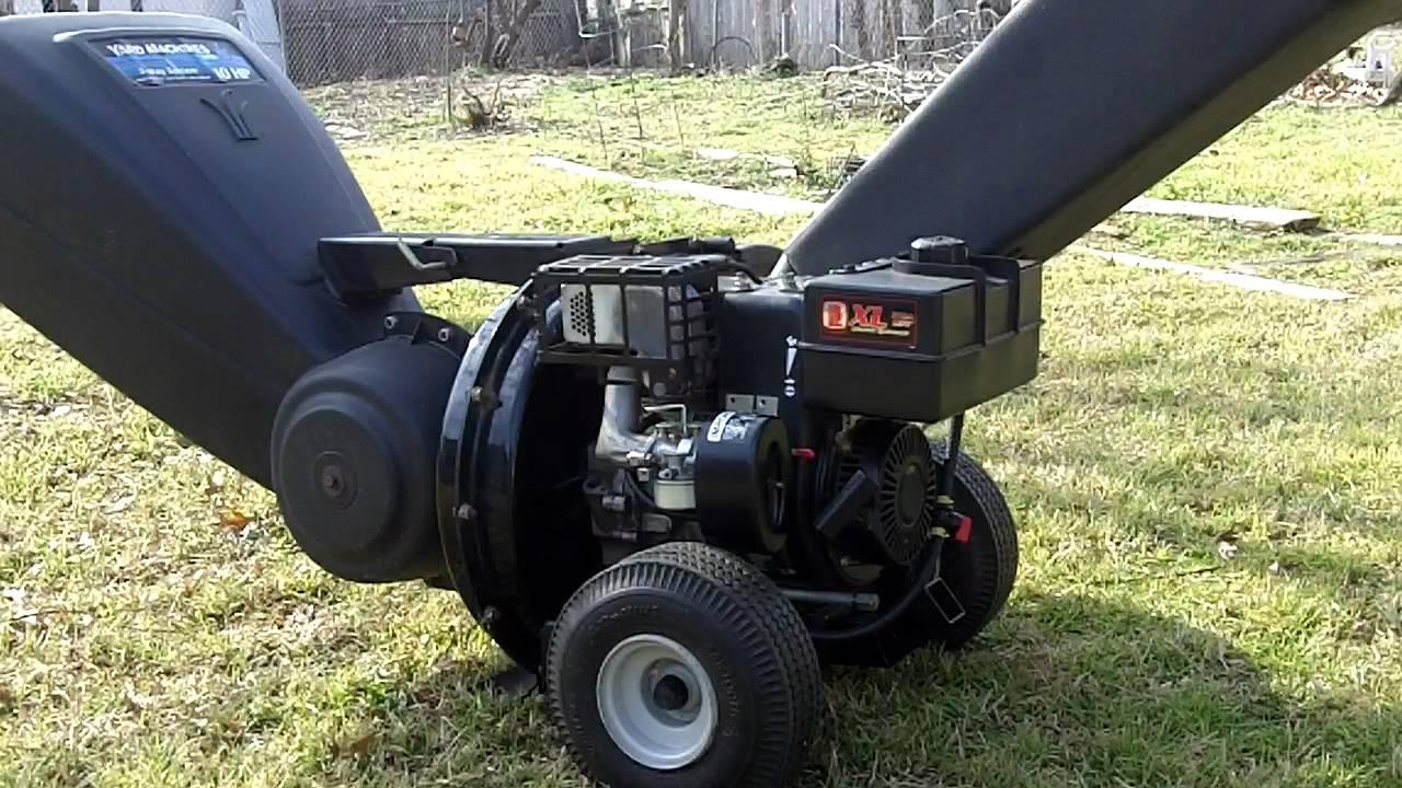 Mtd Yard Machines Chipper Shredder