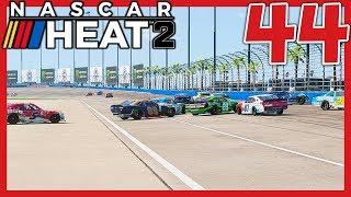 NASCAR Heat 2 Career Mode Episode 44, round 5 at Auto Club Speedway...