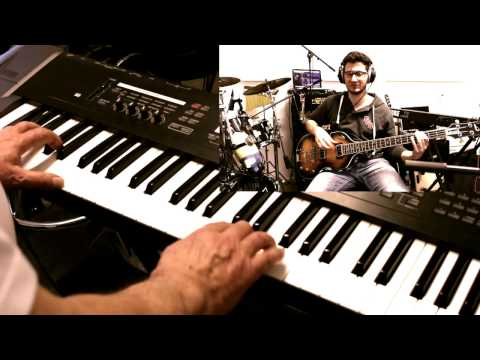 Tulsa Time - Eric Clapton Cover - Bass / Drums/ Piano
