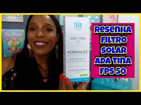 Resenha Filtro Solar Para Pele Oleosa Normalize Matte Ada Tina Fps