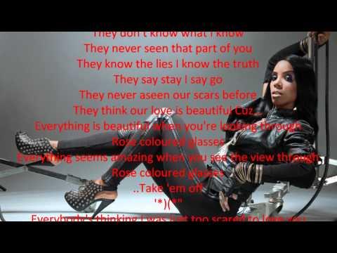 Kelly Rowland  Rose Colored Glasses Lyrics HD